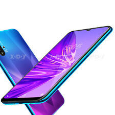 6.6 pulgadas Teléfono inteligente Desbloqueado Barato Android 9.0 Teléfono Celular Dual Sim Quad Core A50