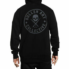 Sullen Men's Ever Long Sleeve Pullover Hoodie Jet Black Clothing Apparel Hood...