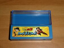 DRAGON BALL Z DBZ CARD SEAL PRISM BOITE/BOX HARD CASE CARTE MADE JAP 1989 ** #02