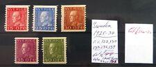 SWEDEN 1925/34 Cat £114 As Described NC1434
