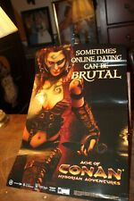 "Age of Conan Online Hyborian Adventure Cleavage Sexy Poster 20"" x 13-1/4"""