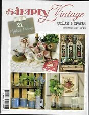 SIMPLY VINTAGE Quilts & Crafts - n° 10