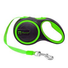 10Ft Retractable Dog Leash Automatic Extending Walking Lead Reflective Pet Leash