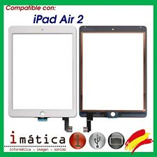 PANTALLA TACTIL PARA APPLE IPAD AIR 2 DIGITALIZADOR 6TH A1566 A1567 BLANCO