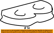 FORD OEM 92-02 E-350 Econoline Club Wagon Side Sliding Door-Wedge 3C2Z1540008AA