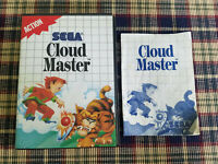 Cloud Master - Authentic - Sega Master - Case / Box and Manual Only!