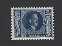 MNH Hitler stamp ScB233 / PF08 + PF22 1943 Birthday / WWII Germany / Third Reich