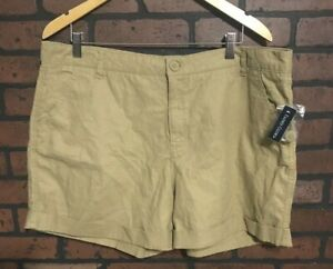 Women's Faded Glory Rolled Cuffed Shorts Size 18