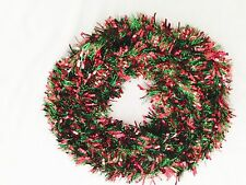 "Green Red 5""X 144"" Garland Foil Decoration"