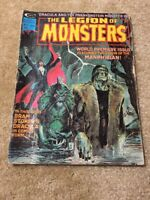 The Legion Of Monsters Issue #1 1975
