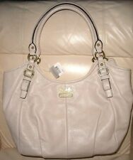New Coach Madison Leather Abigail Parchment  Style #18612.