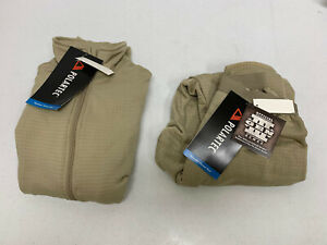 GEN III LEVEL 2 MID-WEIGHT COLD WEATHER POLARTEC L2 WAFFLE DRAWER & SHIRT XSS