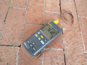 Fluke 51 II Single Input Digital Thermometer with Thermocouple