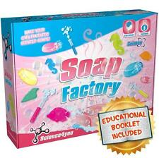 Science4you Soap Factory Childrens/Kids Science Experiment Educational Kit Set