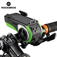 Bicycle Phone Holder Power Bank Light for Bike 5 In 1 Multi Function Device