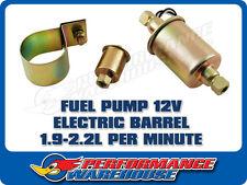 FUEL PUMP ELECTRIC BARREL 1.9-2.2 LITRE PER MINUTE 12V, FUEL PUMP, UNIVERSAL