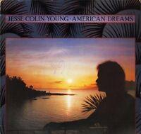 JESSE COLIN YOUNG american dreams K52105 uk elektra 1978 LP PS EX/EX + inner wos