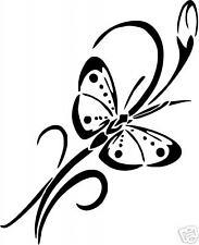 Tribal Butterfly Vinyl Sticker/ Decal