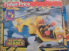 Fisher Price Imaginext RESCUE HEROES Quick Helicopter Elicottero Veloce