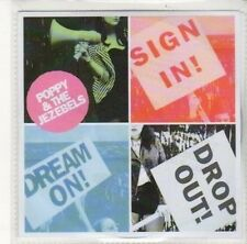 (DK363) Poppy & The Jezebels, Sign In Dream On Drop Out! - DJ CD