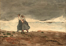 Winslow Homer Watercolor Reproductions: Danger: Fine Art Print