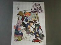 Little Witch Academia Vol.6 First Limited Edition Blu-ray+Making Book +Card Used