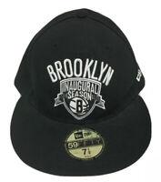 Brooklyn Nets Inaugural Season 2012-2013 NBA Basketball New Era Size 7 1/2 Hat