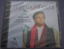 JUSTUS FRANTZ Mozart Sonatas Variations etc NEW SEALED BMG Eurodisc