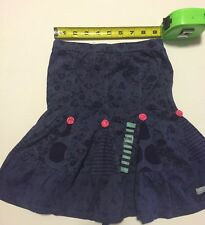 NAARTIJIE KIDS Girls Size 4 Yrs Blue A-Line Embellished New