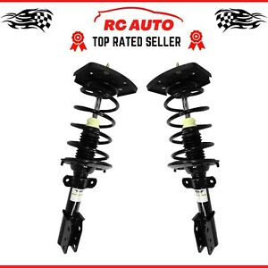 Pair (2) Rear Quick Struts & Coil Springs for 05-09 Buick LaCrosse 04-13 Impala