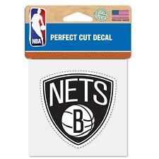"Brooklyn Nets Perfect Cut 4""x4"" Color Decal [NEW] Auto Sticker Emblem NBA"