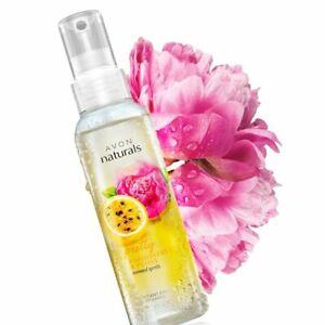Avon Naturals Passionfruit & Peony Body Mist Body Spray 100 ml New