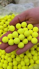Bright Yellow Fluoro Pop-ups Boilie Fishing Bait Tutti Frutti 15mm Carp Bait