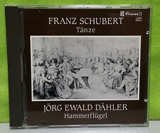 Frank Schubert Tanze Jorg Ewald Dahler Hammerflugel - German Dances CD 50-903