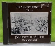 Frank Schubert Tanze Jorg Ewald Dahler Hammerflugel - German Dances CD 50-903