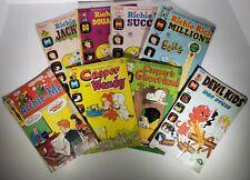 Assorted Comics Lot - Richie Rich, Casper, Devil Kids, And Archie 1973