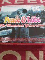 Various Artists - Peace & Love - The Woodstock Gene... - Various Artists Cd