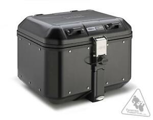 GIVI DLM46B Trekker Dolomiti Monokey 46L Aluminum Top Case | 46L - Black