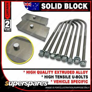 """4"""" 100mm Solid Lowering Block Kit for Toyota Corolla KE with Jap Diff 1966-1981"""