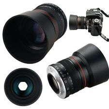 Camera 85mm f/1.8 Portrait Lens for Nikon D810 D7200 D5600 D3400 D760 D610 D5 D4