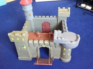 Children's Toy Castle with Catapult