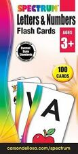Letters & Numbers Flash Cards