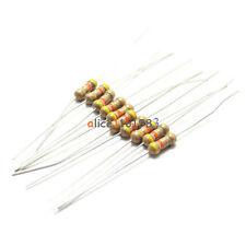 100PCS 100 Ohms 0.25W 1/4W 5% Carbon Film Resistors  Resistance BRAND NEW