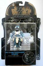 STAR WARS THE BLACK SERIES #12 CLONE COMMANDER WOLFEE HASBRO A9359