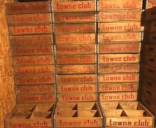 100 Vintage 1970's Towne Club Beverages Wood Soda Pop Crates