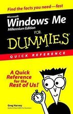 Microsoft Windows Me for Dummies Quick Reference-ExLibrary