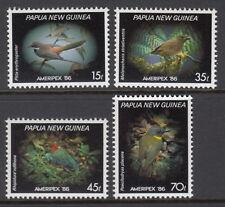 Papua New Guinea 1986 Small Birds - Ameripex'86