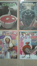 Image lot Chew 10,14,20, & Agent Poyo #1 NM