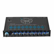 Soundstream MPQ-90 1/2-DIN Auto Audio 9-Band Grafik Equalizer Subwoofer Control