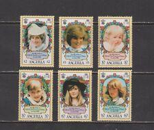 Anguilla-  Lot 611, Mint, NH. Sc# 485-90.